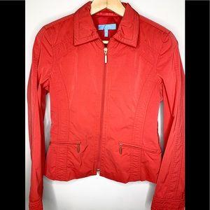ESCADA SPORT Vintage Red Zip Jacket Euro 34
